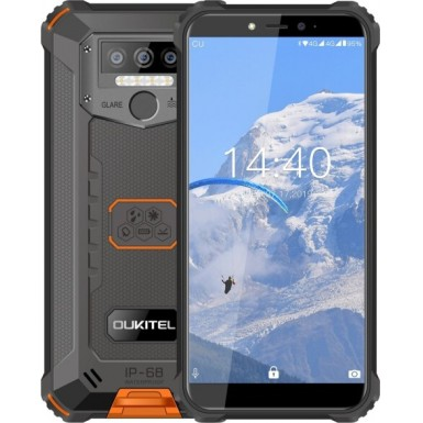 Oukitel wp5 4/32 Black/Orange