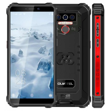 Oukitel wp5 4/32 Black/Red